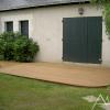 Terrasse en bois courbée 2