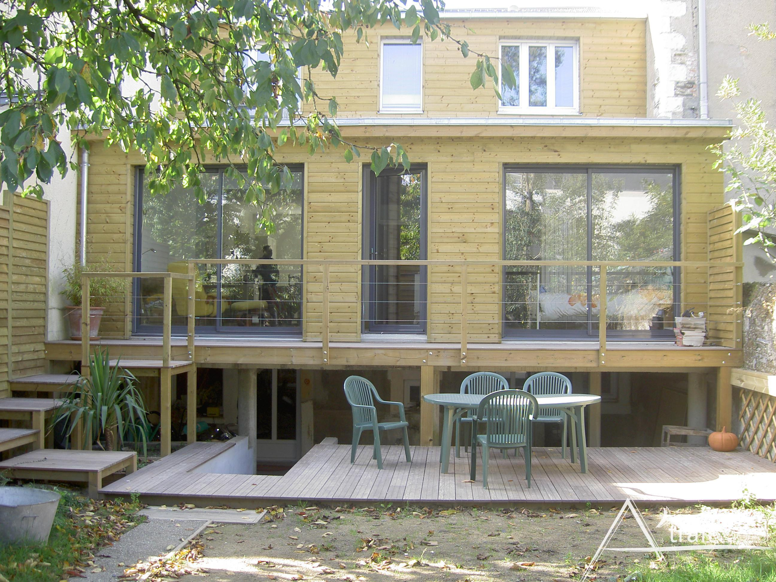 Extension de maison en bois 7