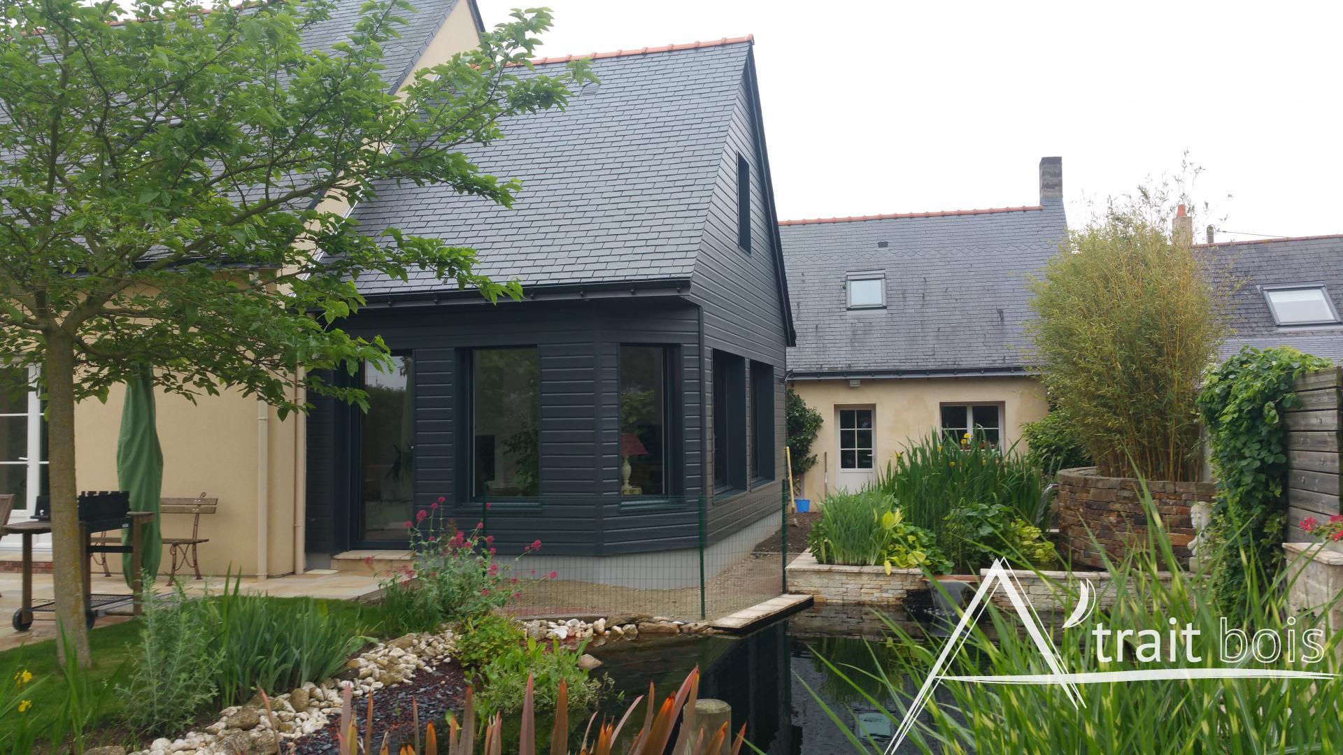 Extension surélévation maisons bois MaineetLoire (49)