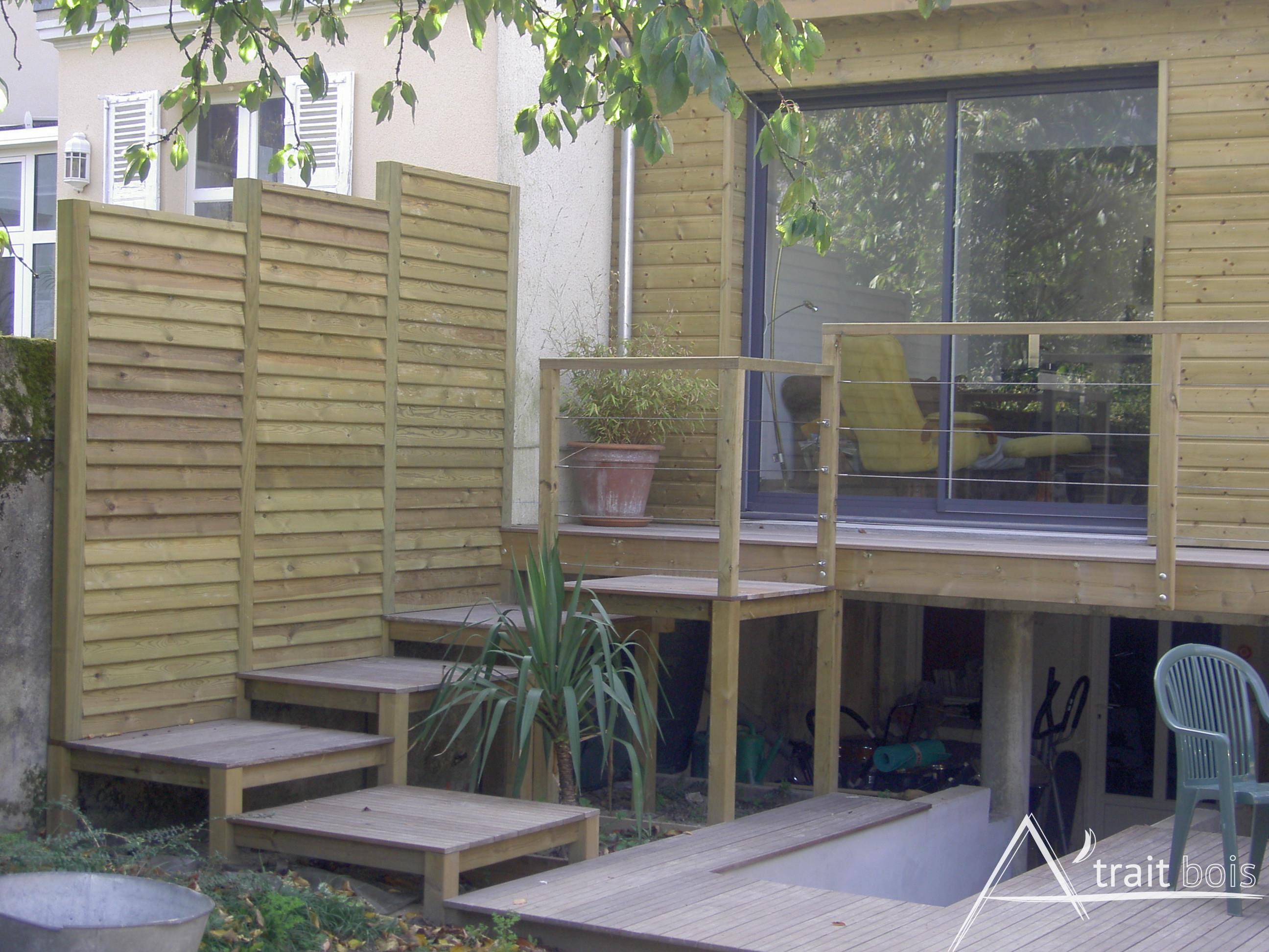 Construction pose terrasse bois dans MaineetLoire (49)