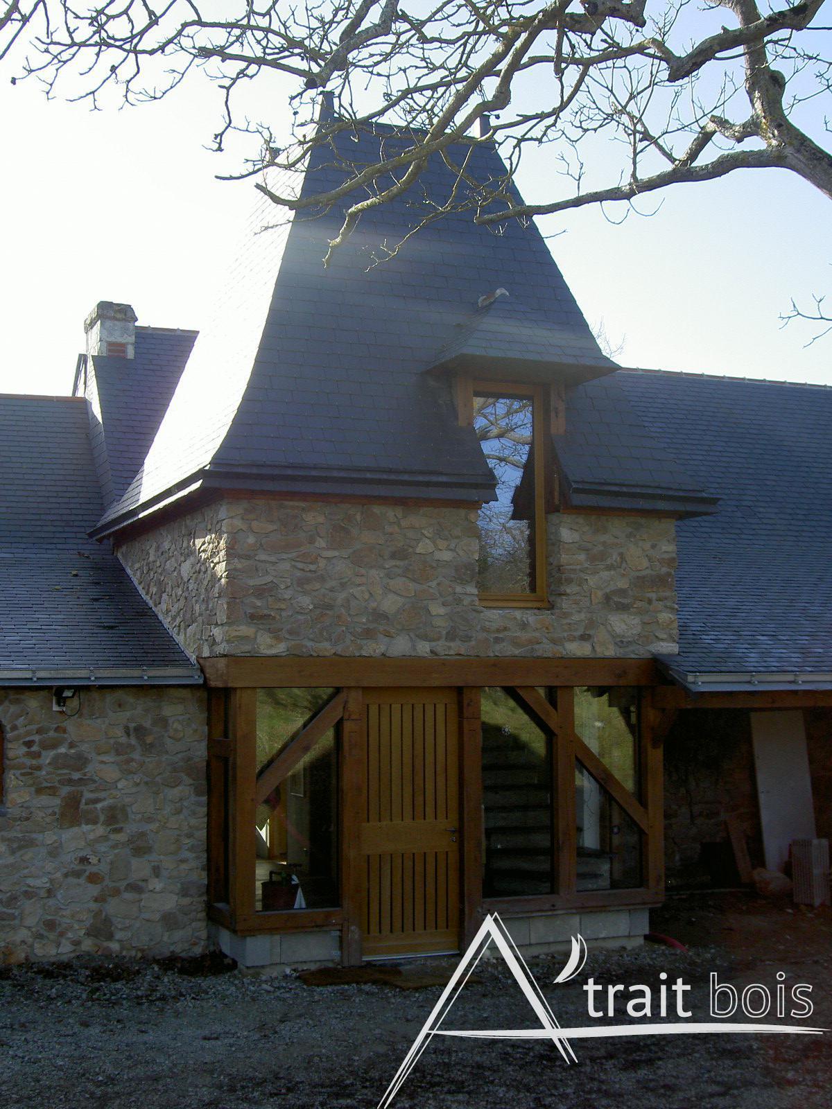 Charpente bois Angers, MaineetLoire (49)
